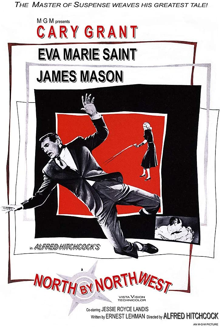 Amazon.com: American Gift Services - North by Northwest Vintage ...