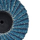 Rocaris 20 Pack Flap Sanding Discs -2 in 60 Grit