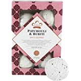 Nubian Heritage Patchouli and Buriti Bath Bombs, 6 count