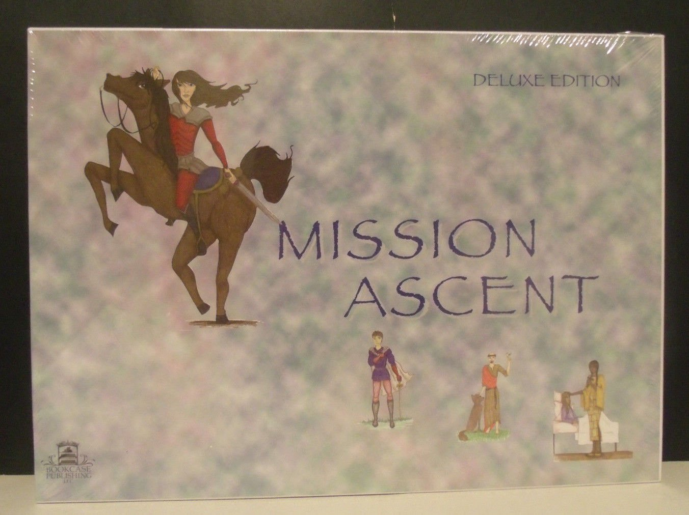 Mission Ascent Catholic Religious Board Game Bookcase Publishing 2001