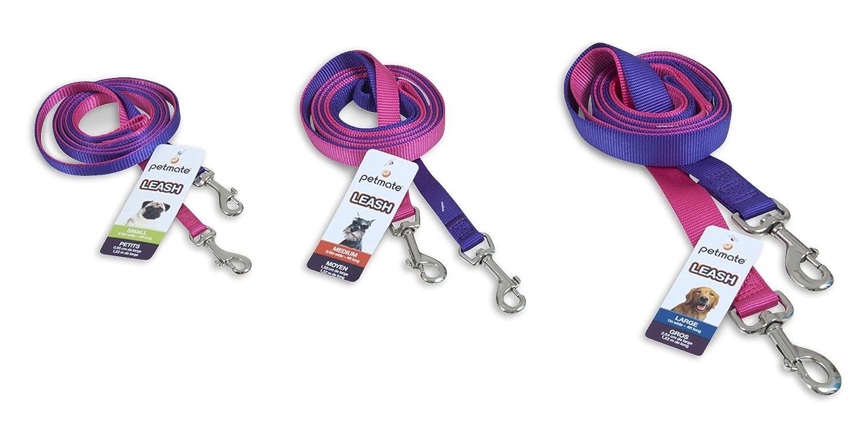 (1.2m x 1cm, Pink) Aspen Pet Products Standard NYL Lead