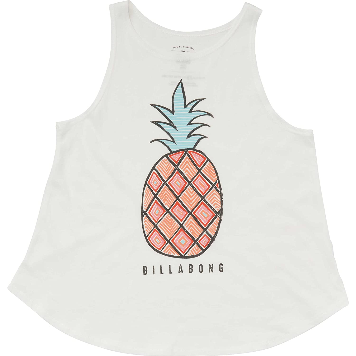 1747ec14eb08df Amazon.com  Billabong Big Girls  Hey Pineapple Tank