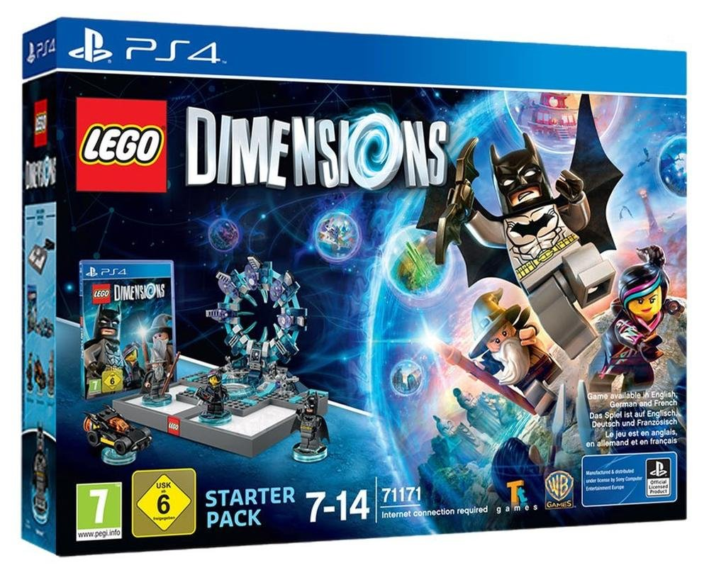 Lego Dimensions Starter Pack PS4 amazon