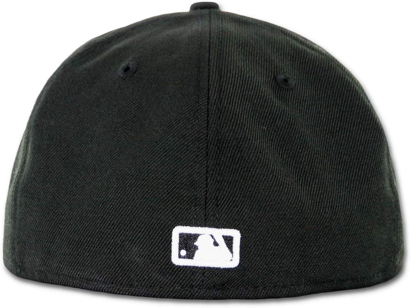 New Era 59Fifty Hat Washington Nationals W Basic Black Fitted Cap 11591091