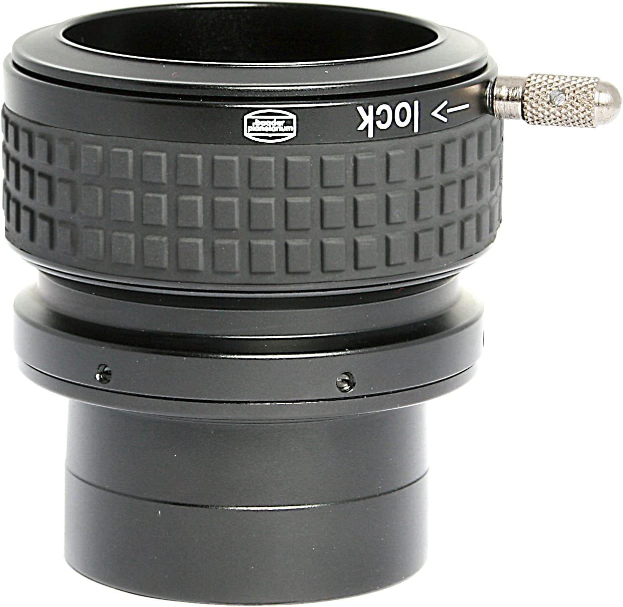 Baader Planetarium ClickLock Extension Adaptor 31.8/mm to 50.8/mm Telescope Side with 11//101,6/mm Receptacle