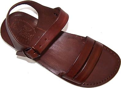 b6d7b4c265e0 Holy Land Market Unisex Leather Biblical Sandals (Jesus - Yashua) Samaria  Style I -