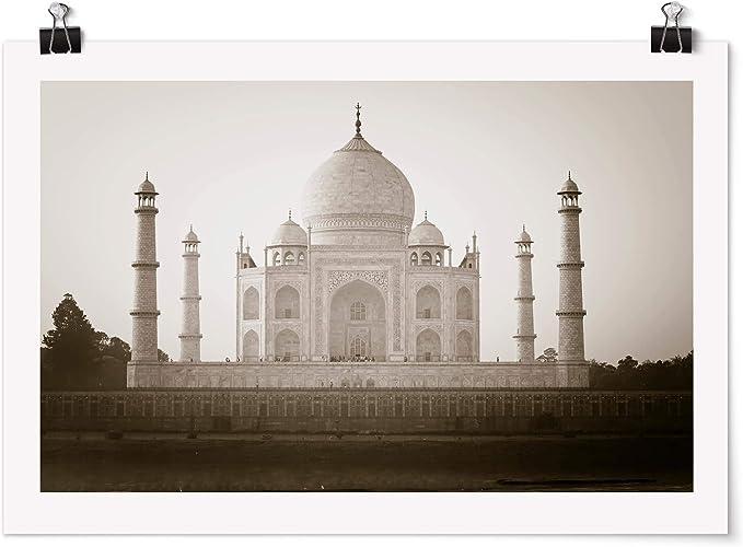 Bilderwelten Poster - Taj Mahal - Apaisado 2:3 Mate 30 x 45cm: Amazon.es: Hogar