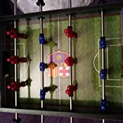 Real Madrid - Mini Futbolín Estadio Santiago Bernabéu, Multicolor ...