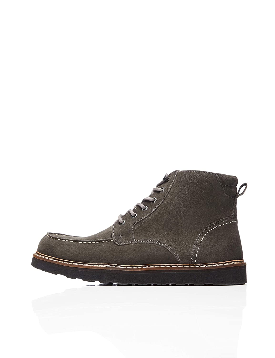 TALLA 41 EU. find. Leather Apron, Botas Chukka Hombre