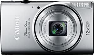 Canon PowerShot ELPH 350 HS - Wi-Fi Enabled (Silver)