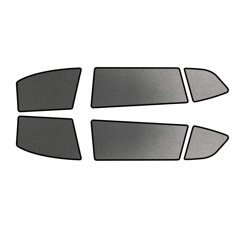 Magnetico 6 pezzi LFOTPP Tiguan II Tendine parasole per auto Parasole per Finestrini laterali auto Accessori interni