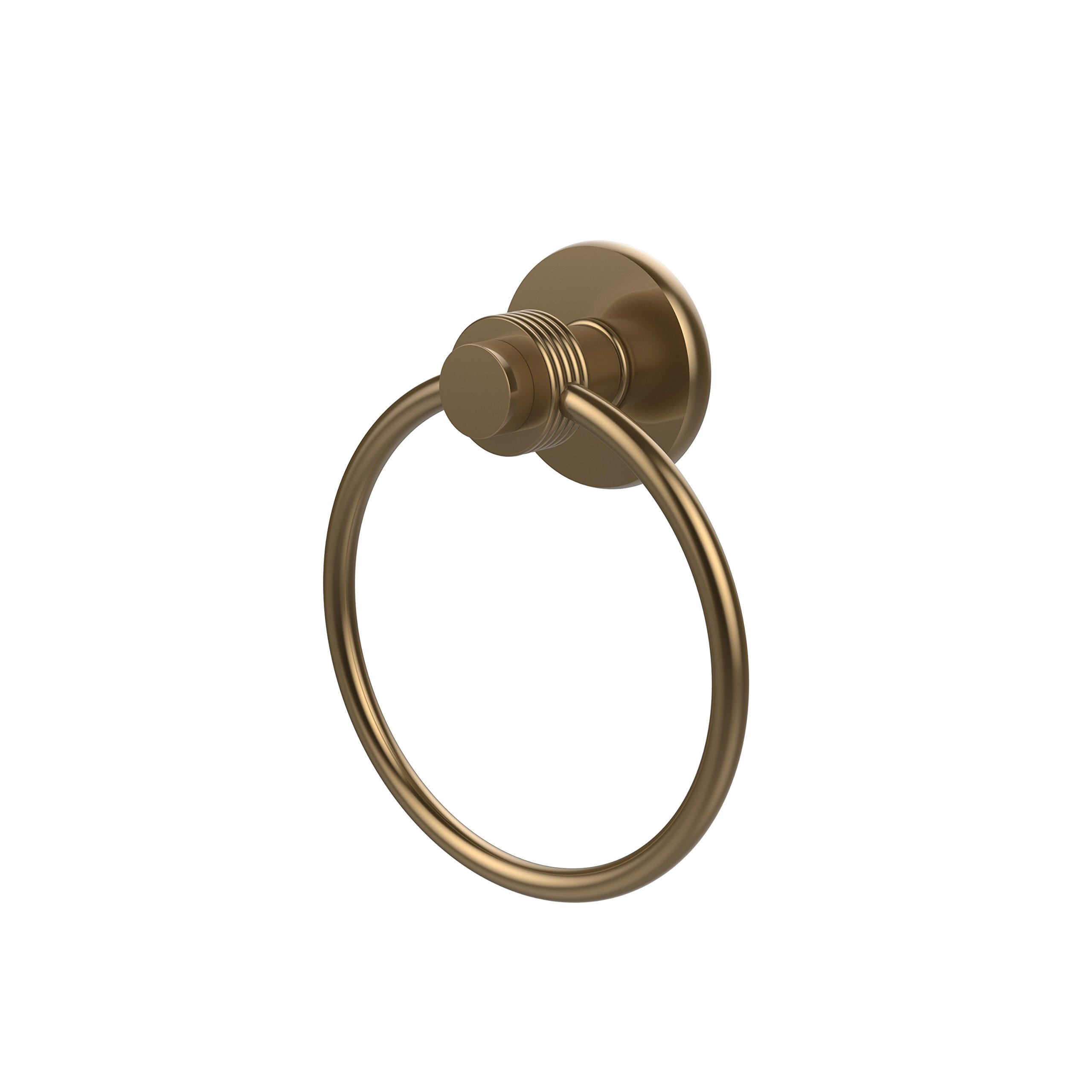 Allied Brass 916G-BBR Towel Ring, Brushed Bronze