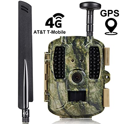 Kuool 4G LTE Cellular & GPS Trail Hunting Camera Trail cam,D40 Game Camera