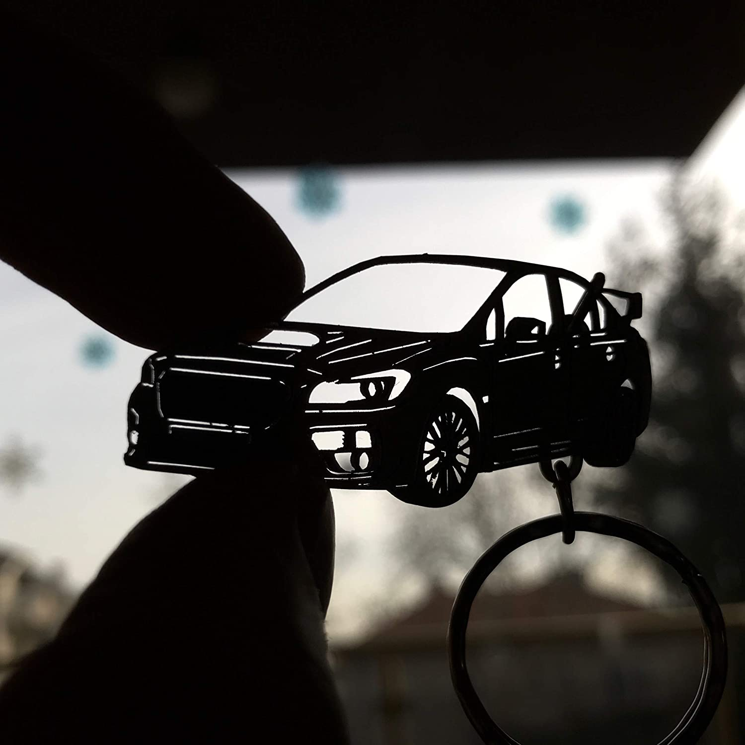 Subaru Impreza WRX key chain Stainless Steel Key ring for Enthusiasts or for gift