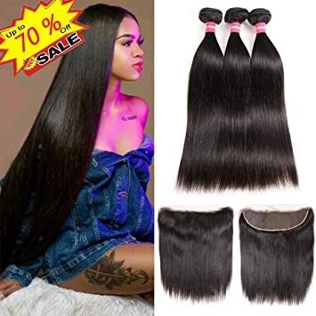 Human Hair Weaves 2019 Latest Design March Queen Brazilian Hair Straight 3 Bundles With Closure #27 Honey Blonde Color Hair Human Hair Weave With 4*4 Lace Closure Ideal Gift For All Occasions