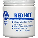 Cramer Red Hot Ointment for Muscle and Joint Pain Relief and Soothing Sore Muscles, Penetrating Warm Therapy Cream for Assisting in Warm-Up, Recovery, Athletes, Athletic Trainers, Athritis, Tendonitis