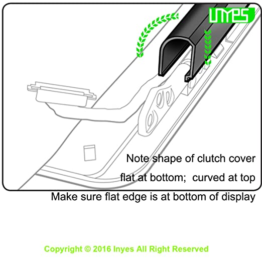 IPOTCH Premium Display Hinge Clutch Cover for Apple Macbook Air A1466 A1369 13inch