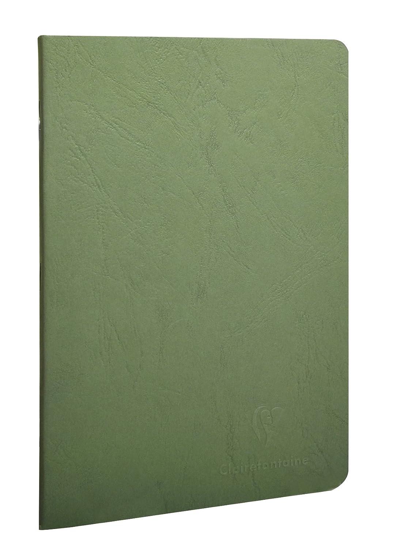 verde 48 fogli Clairefontaine 733163C Libretto A5 rilegato in borsa depoca foderato
