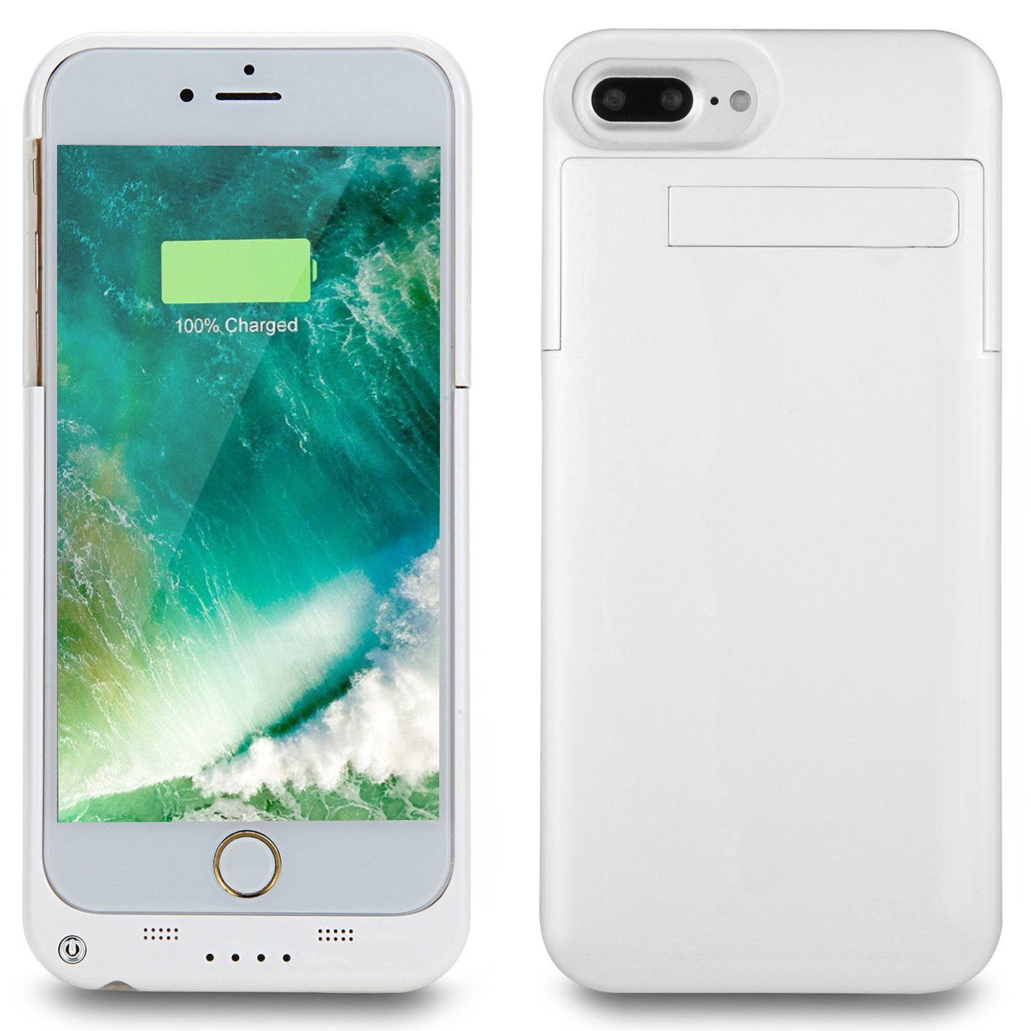 iphone 7 plus charger case white