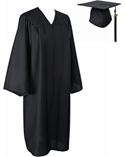 Amazon.com : Black Graduation Cap and Gown : Other Products ...