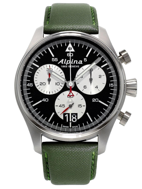 Alpina Startimer Pilot Chronograph Herrenuhr AL-372BS4S6