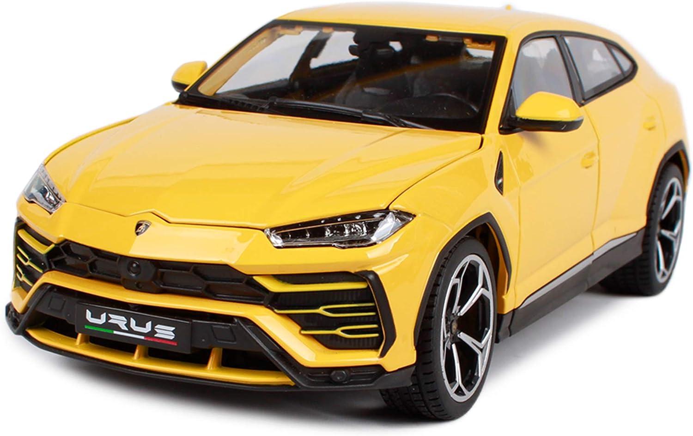 Bburago Lamborghinii Urus Yellow 1//18 Diecast Model Car 11042