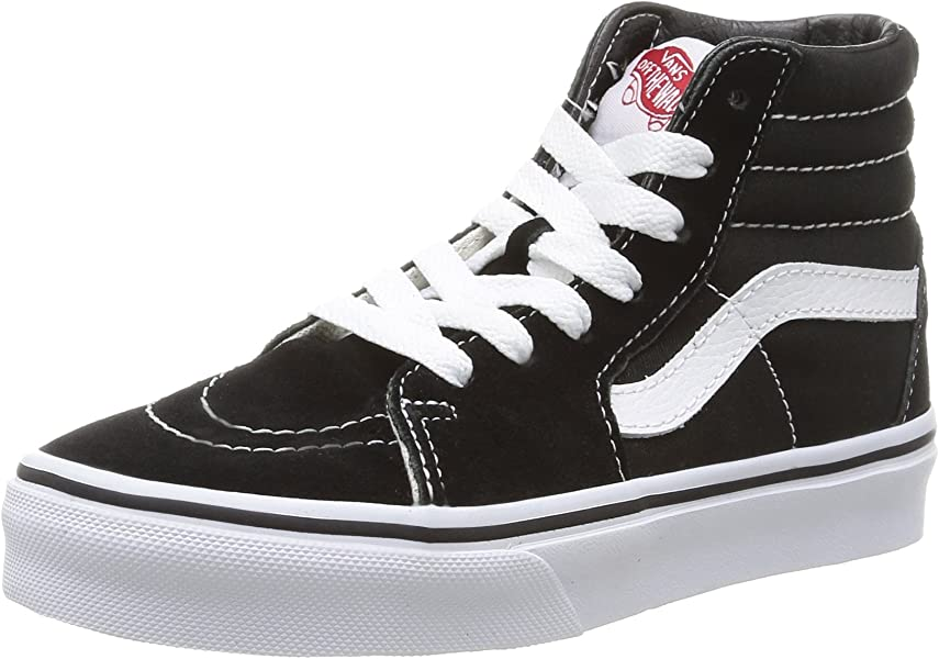 b0d7ea54ff Vans Kids Sk8-Hi Skateboarding Shoes (1 Little Kid M