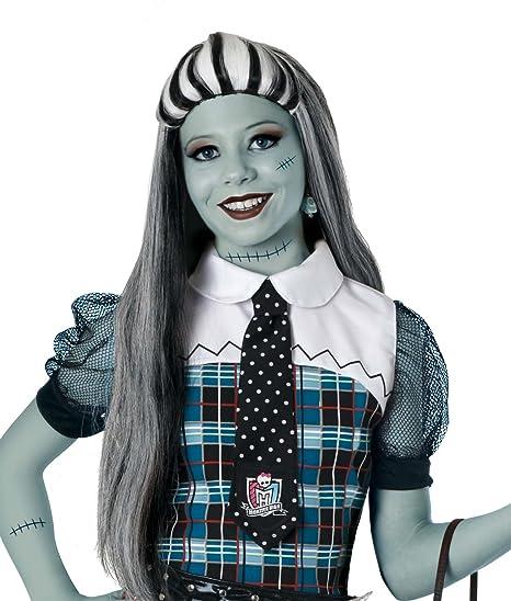 Ruedelafete - Disfraz Frankie Stein Monster High de niña a partir de 5 años (Cesar
