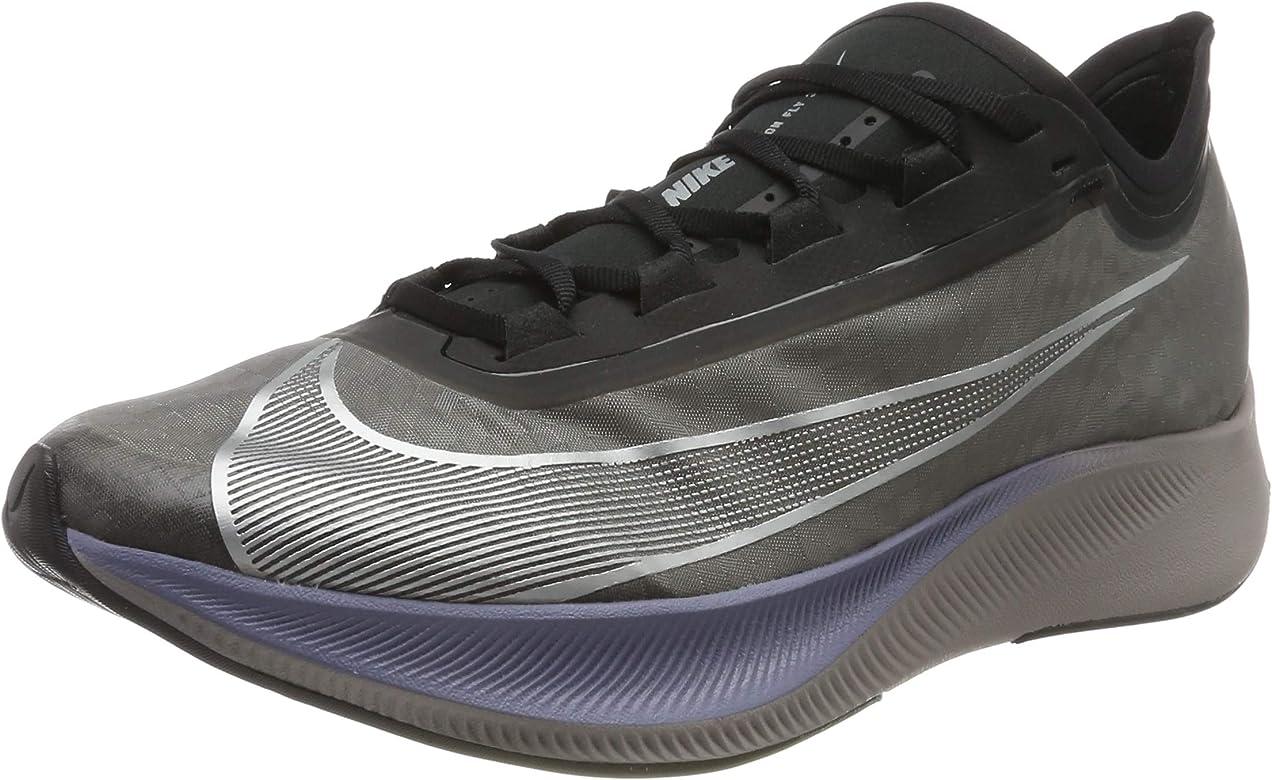 Nike Zoom Fly 3, Zapatillas de Running para Asfalto para Hombre, Multicolor (Thunder Grey/Metallic Silver 001), 42 EU: Amazon.es: Zapatos y complementos