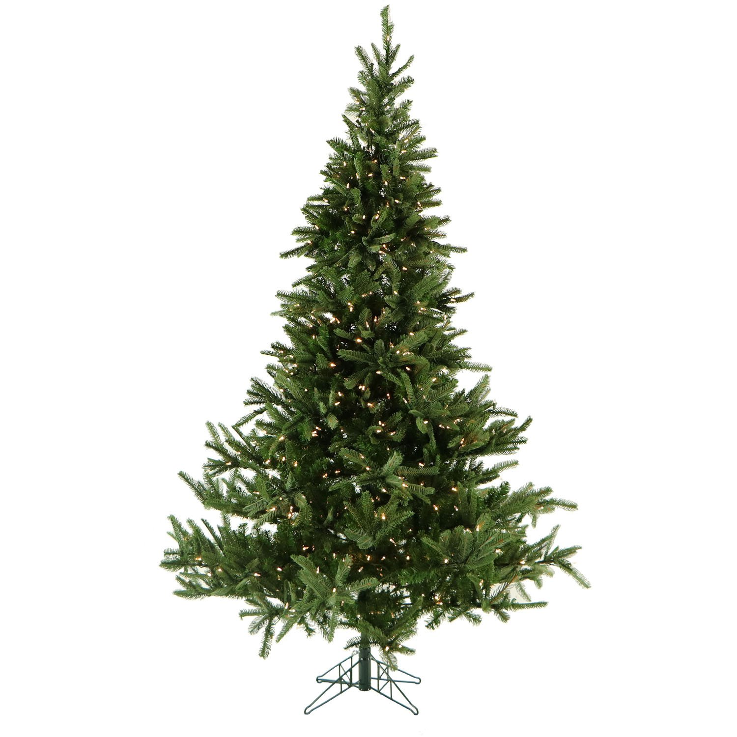 Amazoncom 75 Ft Noble Fir Christmas Tree With Clear Led