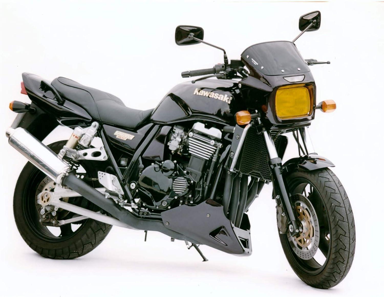 Powerbronze KAWASAKI ZRX1100 ZRX1200 Black Belly Pan