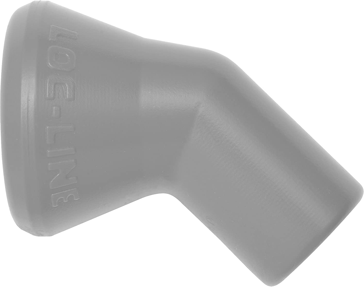 Loc-Line 49473-G 1//4 45 Degree Nozzle Gray Pack of 20