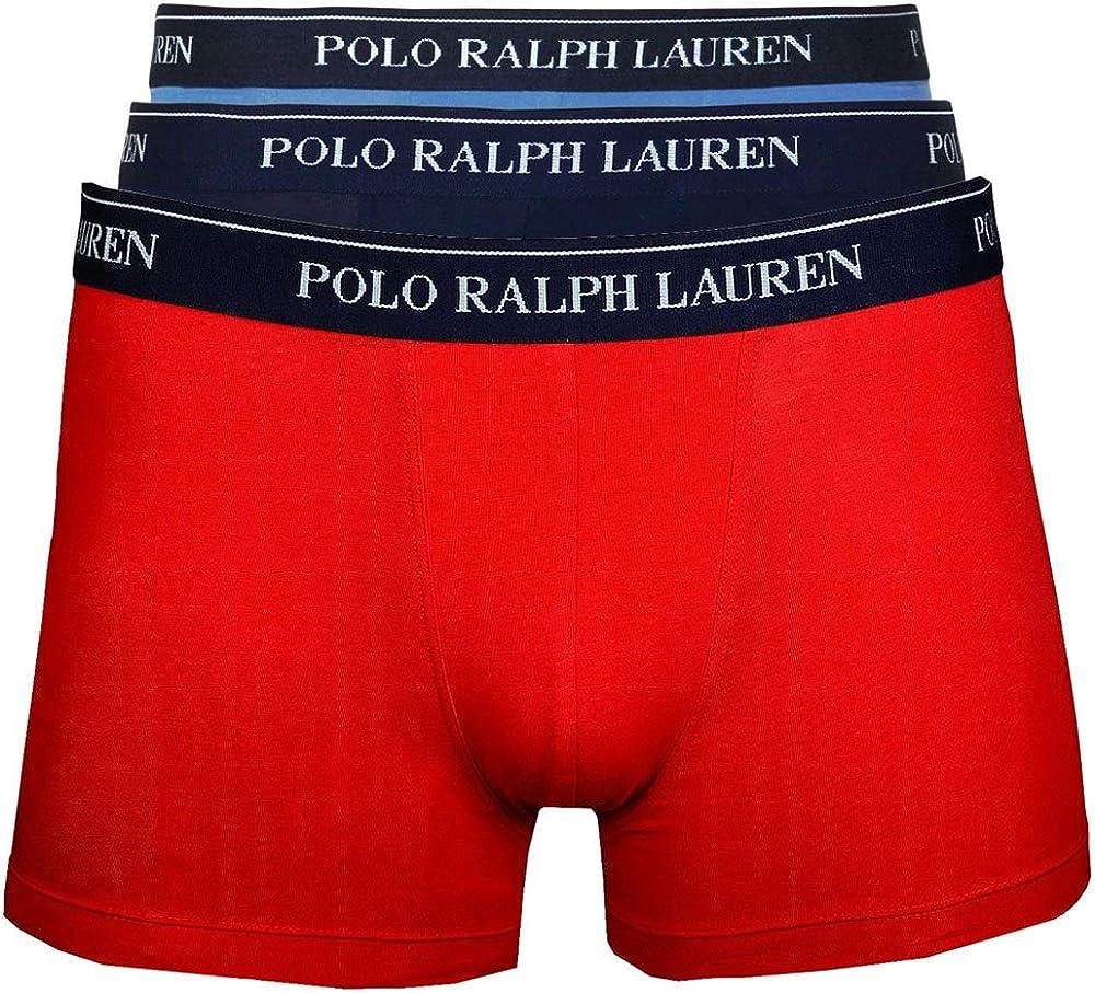 Ralph Lauren - Ralph Lauren 3PK Rojo Hidro Azul - 2XL, Azul ...