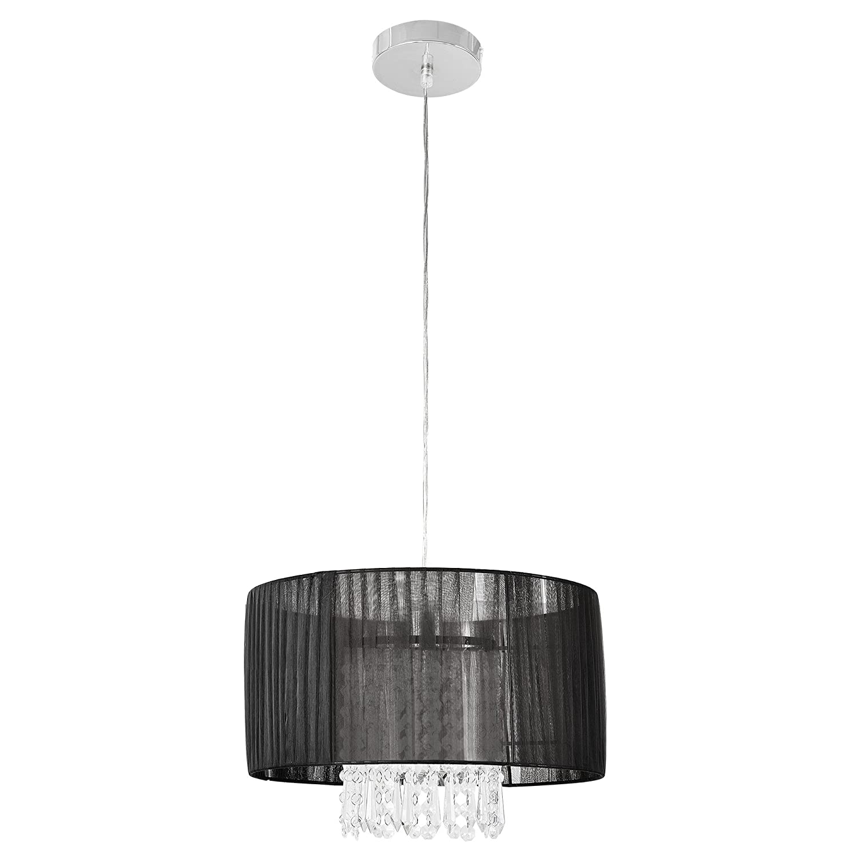 lustre raccord de luminaire suspendu lampe de chambre lampe de salle de s/éjour Barock - 100 cm x /Ø 35 cm luminaire suspendu lustre 1 x socle E27 lux.pro