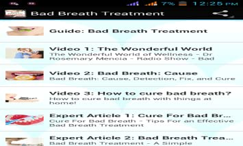 Bad Breath Treatment >> Search Engine For Google