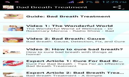 Bad Breath Treatment >> Amazon Com Bad Breath Treatment Appstore For Android