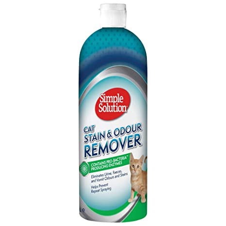 Simple Solution Removedor de manchas y olores gatos