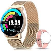 NAIXUES Smartwatch, Reloj Inteligente IP67 con Presión Arterial, 10 Modos de Deporte, Pulsómetro, Monitor de Sueño, Notificaciones Inteligentes, Smartwatch Hombre Mujer para iOS y Android