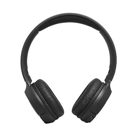 JBL Tune500BT - Auriculares supraaurales inalámbricos con conexiones multipunto y asistente de voz Google now o Siri, batería de 16h, negro: Amazon.es: ...