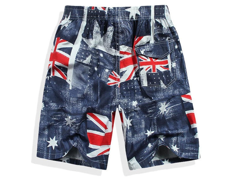 Men\u0027s Board Shorts, British Flag Design   Amazon.com