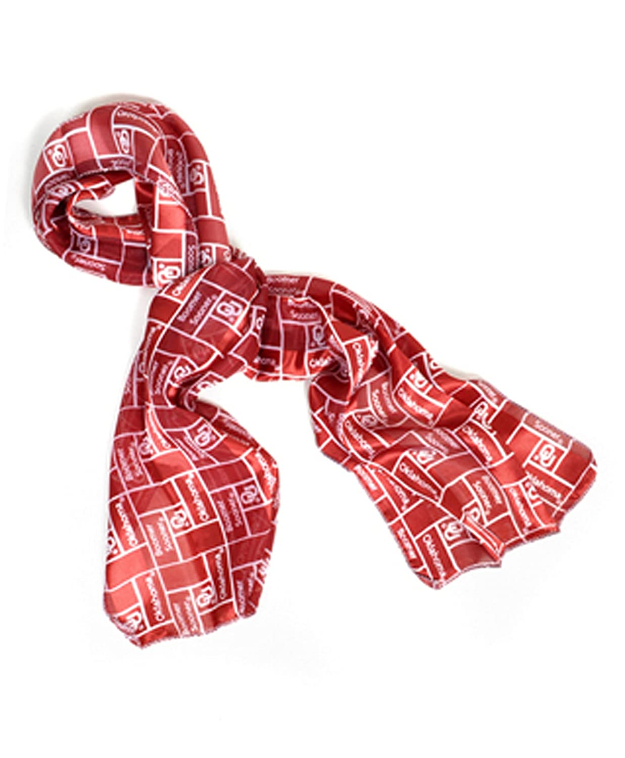 Official NCAA Oklahoma Sooners Sheer Scarf Available in 2 Different Colors