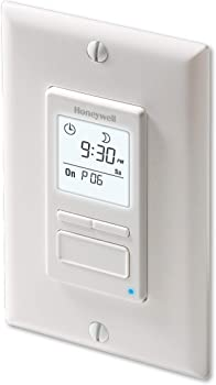 Honeywell Home Econoswitch Programmable Light Switch Timer