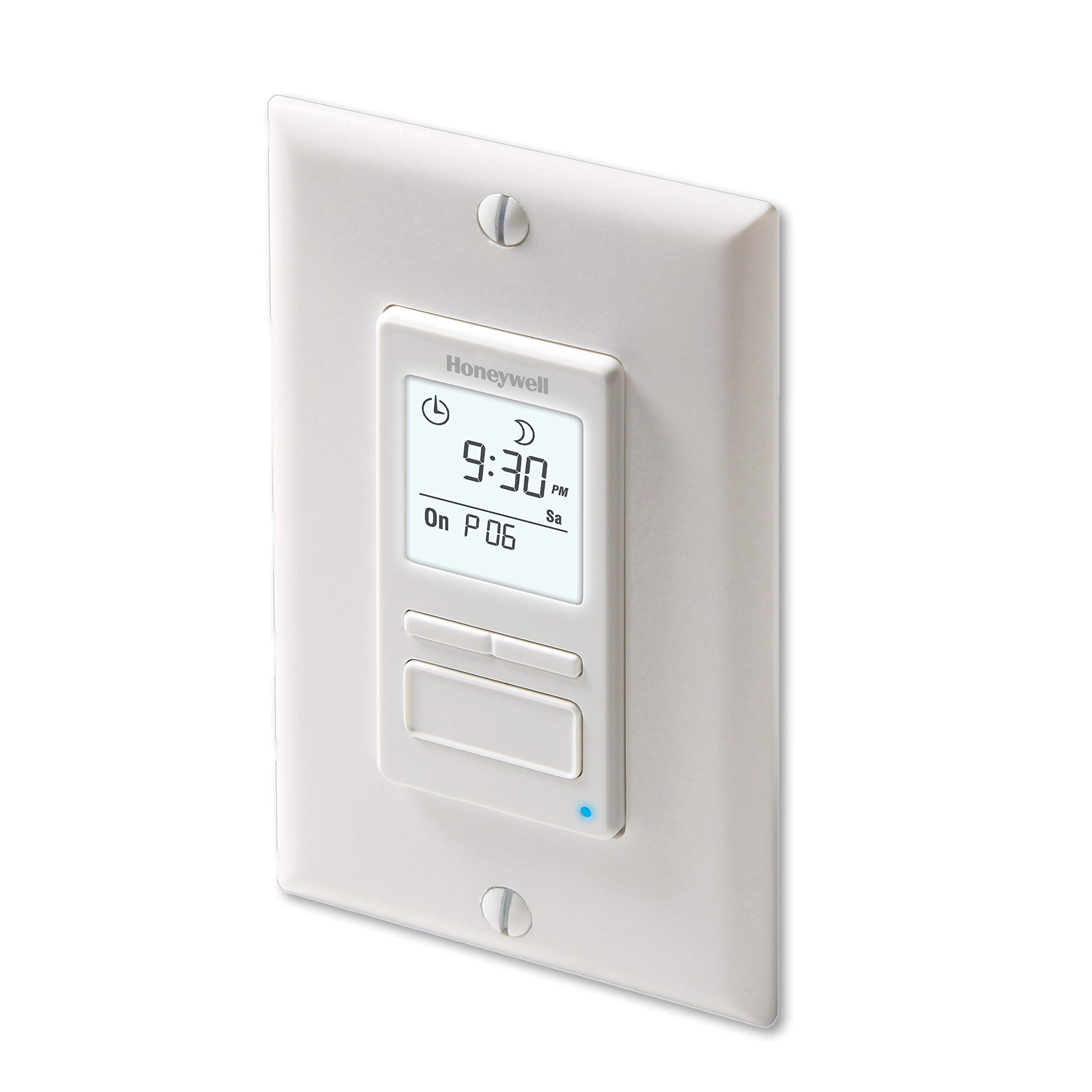 Honeywell Home RPLS740B1008 Econoswitch 7-Day Programmable Light Switch Timer, White by Honeywell