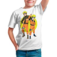 Camiseta Serie Manga y Anime Niño - Unisex Naruto