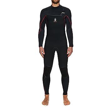 ONeill 2017/18 Jack Legend 4/3mm GBS Chest Zip Wetsuit Black