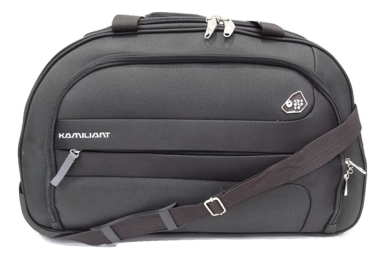 3aadd8e9275 KAM Polyester 67 Cms Grey Soft Sided Travel Duffle  Amazon.in  Bags,  Wallets   Luggage