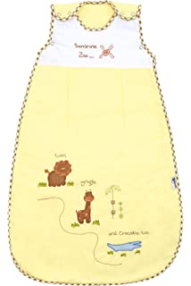 Baby Summer Sleep Sack Wearable Blanket 1 Tog - Zoo - 6-18 months/