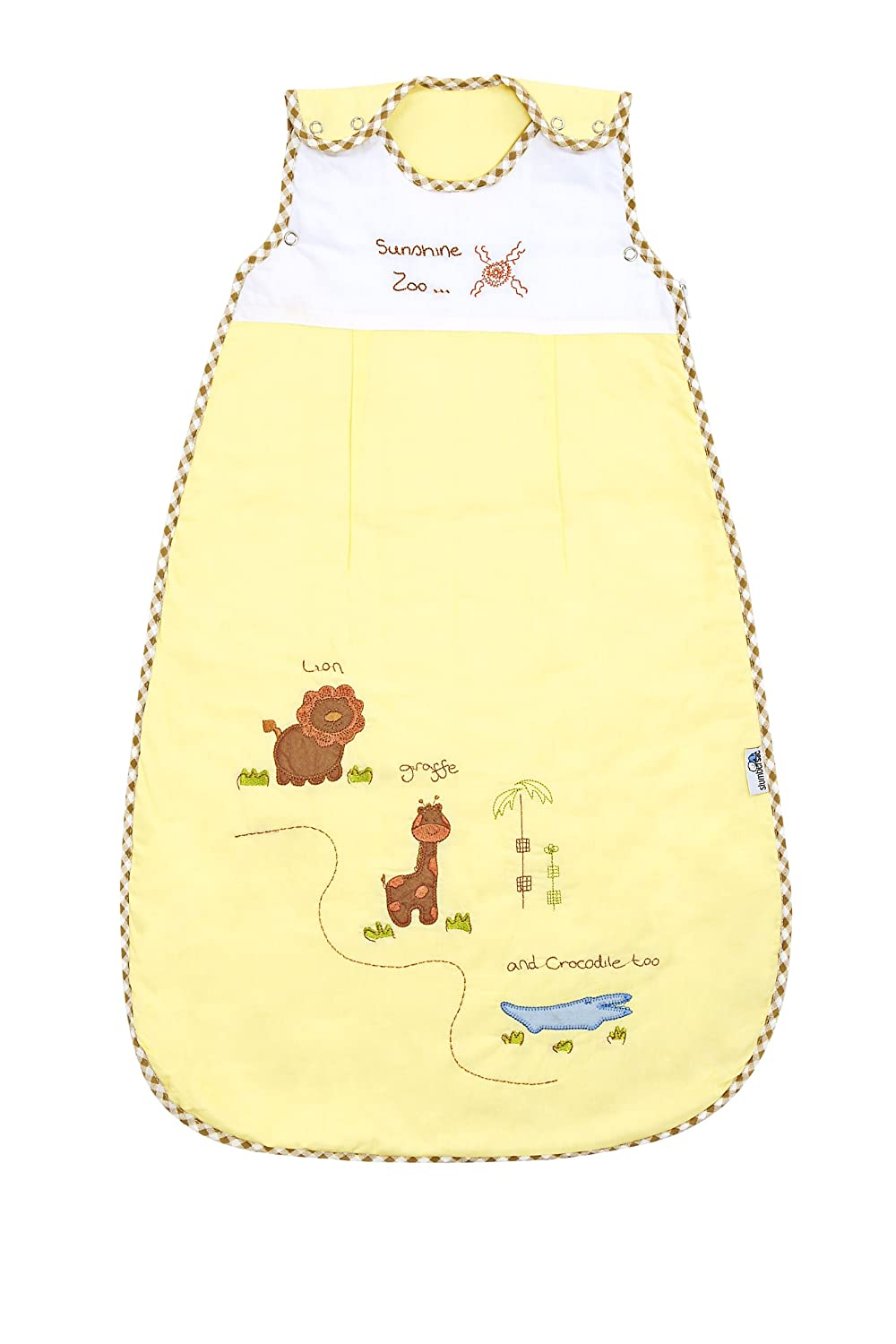 Baby Sleeping Bag approx. 2.5 Tog - Zoo, 3-6 years/inch Slumbersafe