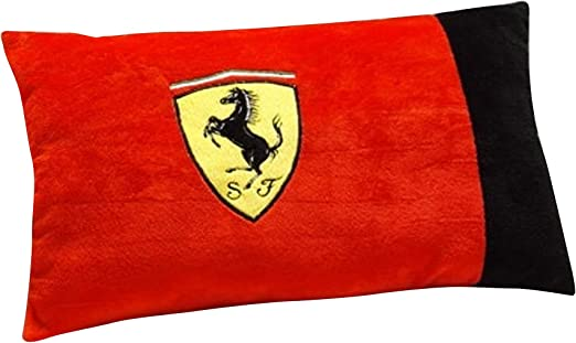 Ferrari 25 x 40 cm Cojín de poliéster 100 por ciento, Rojo: Amazon.es: Hogar