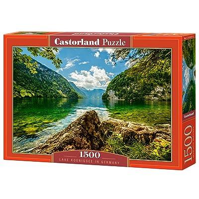 Castorland C-151417-2 - Puzzle - Königssee en Bavière - 1500 Pièces